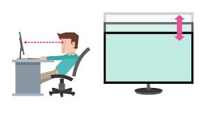 فاصله مناسب کاربر یا اپراتور مانیتورینگ با نمایشگر ها در انتخاب نمایشگر سیستم مداربسته