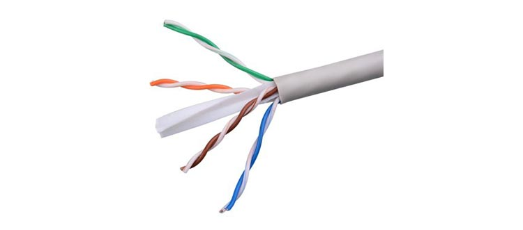 کابل شبکه یا به هم تابیده-